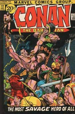 Conan The Barbarian (1970-1993) (Grapa, 32 págs.) #12