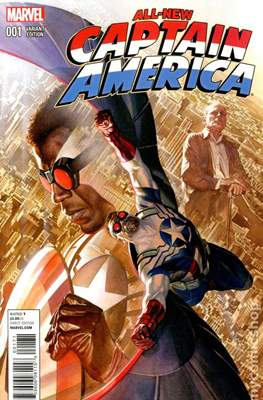 All-New Captain America (Variant Cover) #1.4