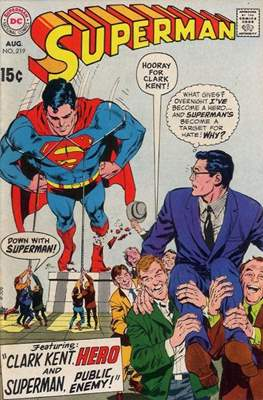 Superman Vol. 1 / Adventures of Superman Vol. 1 (1939-2011) (Comic Book) #219