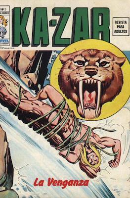 Ka-Zar (1974-1977) (Rústica 40 pp) #3