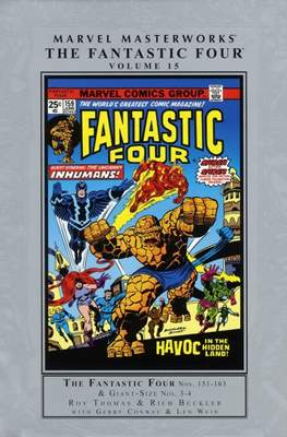 Marvel Masterworks: The Fantastic Four (Hardcover) #15