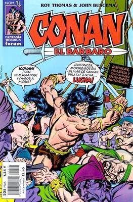 Conan el Bárbaro (1998-2001) (Grapa 24 pp) #71
