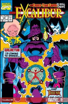 Excalibur Vol. 1 (Comic Book) #25