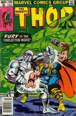 Journey into Mystery / Thor Vol 1 (Comic Book) #288