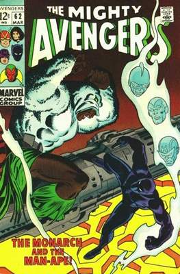 The Avengers Vol. 1 (1963-1996) (Comic Book) #62