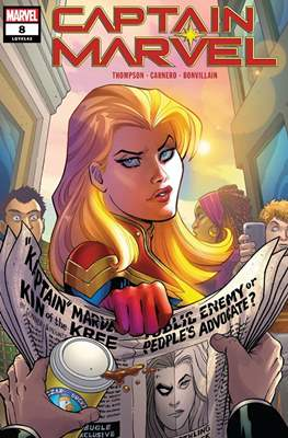 Captain Marvel Vol. 10 (2019-) (Comic Book) #8