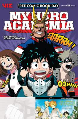 My Hero Academia & Promised Neverland - Free Comic Book Day 2019