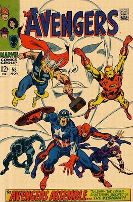 The Avengers Vol. 1 (1963-1996) (Comic Book) #58
