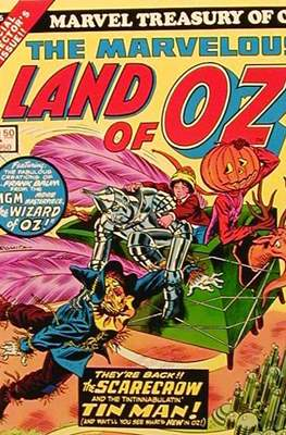 Marvel Treasury of Oz - The Marvelous Land of Oz