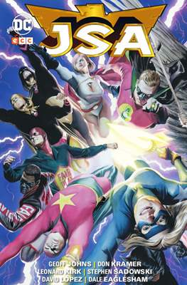 JSA de Geoff Johns (Cartoné) #8