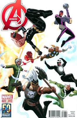 Avengers Vol. 5 (2013-2015 Variant Covers) (Comic Book) #22
