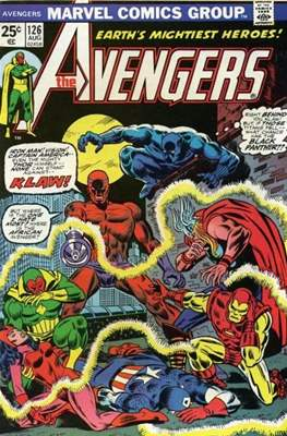 The Avengers Vol. 1 (1963-1996) (Comic Book) #126