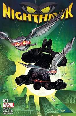 Nighthawk Vol. 2 (Comic-book) #4