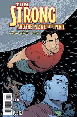 Tom Strong and the Planet of Peril (Grapa) #5