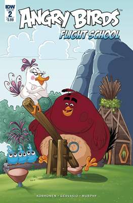 Angry Birds Flight School (Grapa) #2
