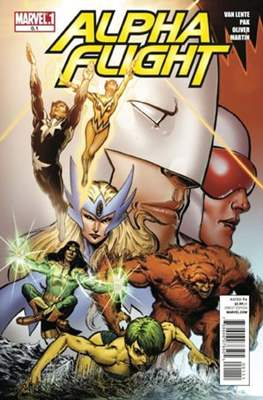 Alpha Flight Vol. 4 (2011-2012)
