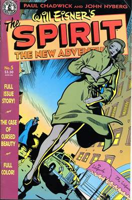 The Spirit. The New Adventures (Comic book. grapa.) #5