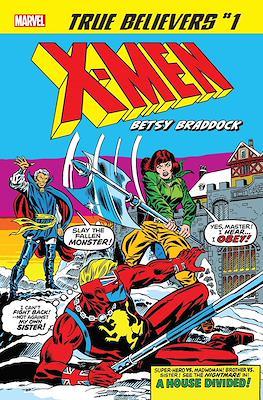 True Believers: X-Men - Betsy Braddock (2019) #1