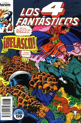 Los 4 Fantásticos Vol. 1 (1983-1994) (Grapa 36-32-24 pp) #83