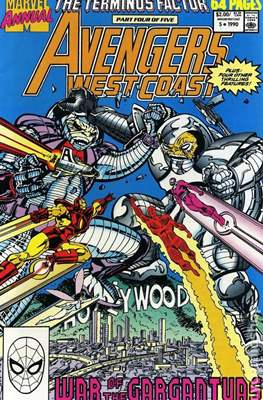 Avengers West Coast Annual (1986-1993) (Comic-Book) #5
