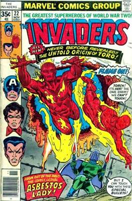The Invaders (Comic Book. 1975 - 1979) #22