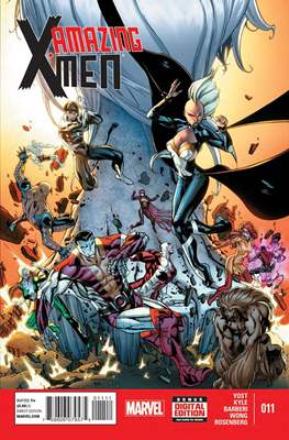 Amazing X-Men Vol. 2 (Comic Book) #11