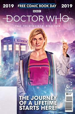 Doctor Who - The Thirteenth Doctor - Free Comic Book Day 2019