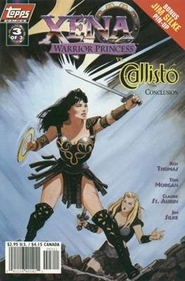Xena: Warrior Princess vs. Callisto (Variant Cover 1998) #3.1