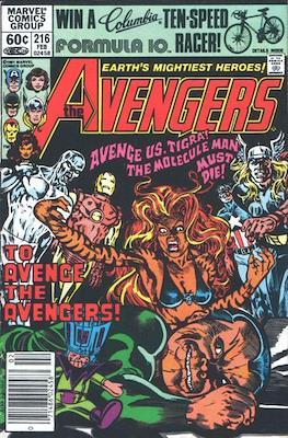 The Avengers Vol. 1 (1963-1996) (Grapa) #216