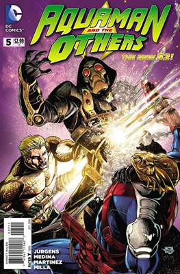 Aquaman and The Others (2014-2015) #5