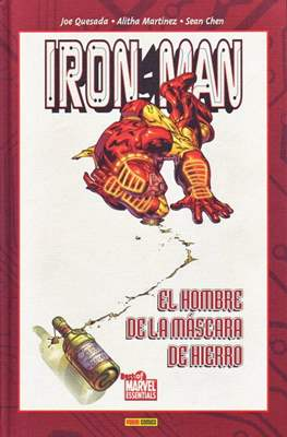 Iron Man. El hombre de la máscara de hierro. Best of Marvel Essentials