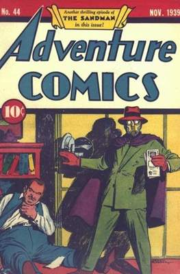 New Comics / New Adventure Comics / Adventure Comics (1935-1983; 2009-2011) (Saddle-Stitched) #44