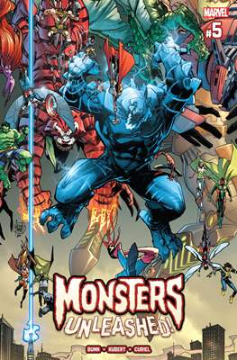 Monsters Unleashed (2017 Variant Cover) (Comic-book) #5