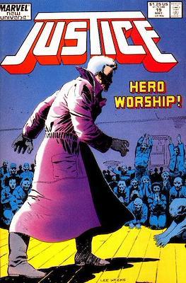 Justice. New Universe (1986) (Grapa.) #19