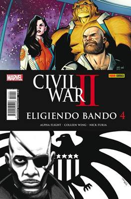 Civil War II: Eligiendo bando (2016-2017) (Grapa) #4