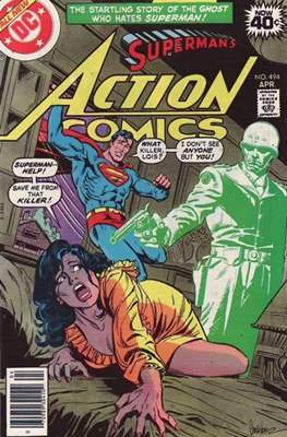 Action Comics Vol. 1 (1938-2011; 2016-) (Comic Book) #494
