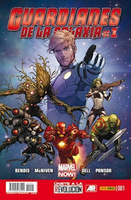 Guardianes de la Galaxia (2013-) (Grapa) #1