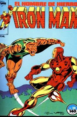 Iron Man Vol. 1 / Marvel Two-in-One: Iron Man & Capitán Marvel (1985-1991) (Grapa, 36-64 pp) #28