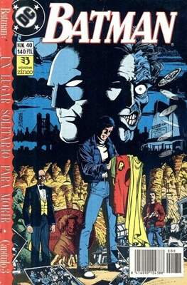 Batman Vol. 2 (Grapa. 1987-1993) #40