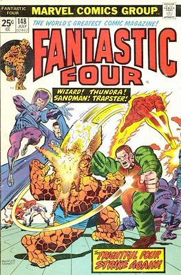 Fantastic Four Vol. 1 (1961-1996) (saddle-stitched) #148