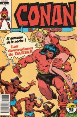 Conan el Bárbaro (1983-1994) (Grapa. 19x27. 36/32/24 páginas. Color.) #28