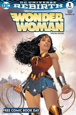 Wonder Woman Rebirth - Free Comic Book Day 2017