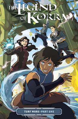 The Legend of Korra: Turf Wars (Softcover) #1