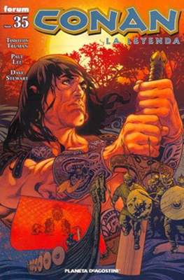 Conan. La Leyenda (Grapa 28-116 pp) #35