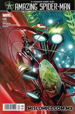 The Amazing Spider-Man (2016-2019) (Grapa) #24