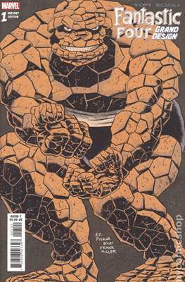 Fantastic Four Grand Design (variant covers)