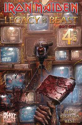 Iron Maiden: Legacy of the Beast - Night City (Comic Book) #4