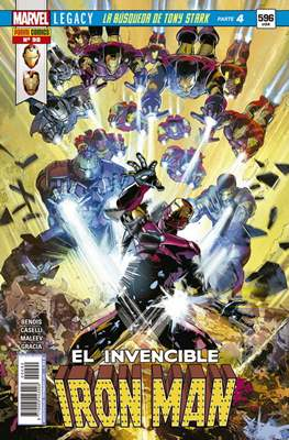 El Invencible Iron Man Vol. 2 (2011-) (Grapa - Rústica) #90