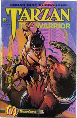 Tarzan The Warrior (Grapa) #2