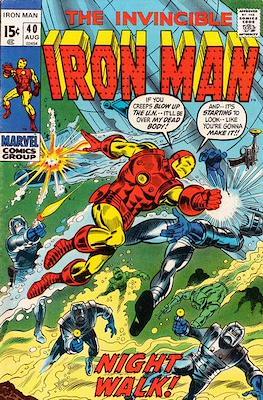Iron Man Vol. 1 (1968-1996) (Comic book) #40